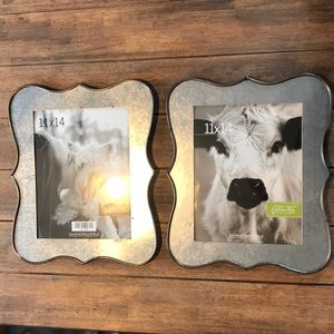 NEW Galvanized Picture Frames
